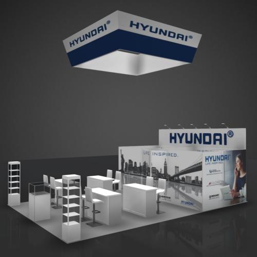 20X30 Booth Rental HYU