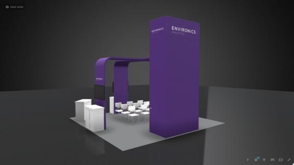 20x20 Booth Rental ENV17