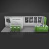 10 x 30 Booth Rental VID16