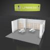 20 x 20 Booth Rental LAS