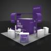 20 x 20 Booth Rental ENV2