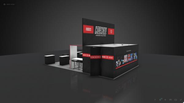 20 x 30 Booth Rental CUR18