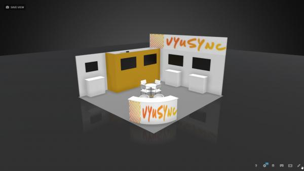 20 x 20 Booth Rental VYU4