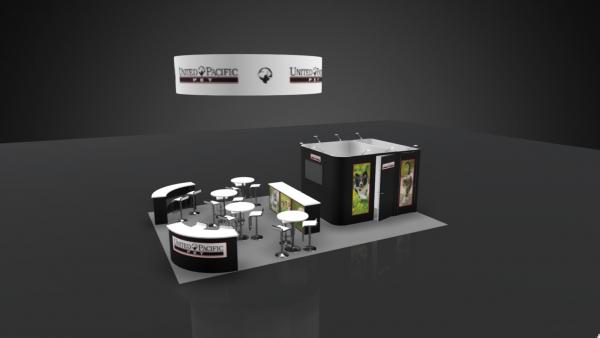 20 x 30 Booth Rental UPP18