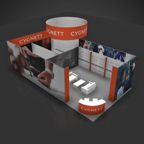 20 x 40 Booth Rental CYG