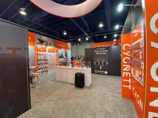 Exhibit Design 20 x 40 CES Trade Show Las Vegas
