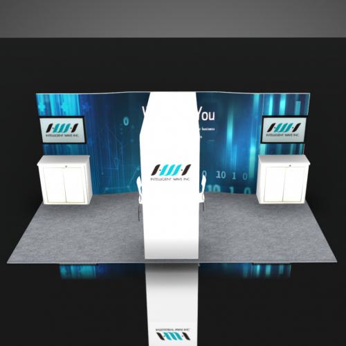 Trade Show Booth Rental 10x20 Las Vegas NAB