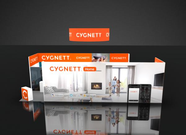 Cygnett Trade Show Booth Rental 20x40 CES Las Vegas