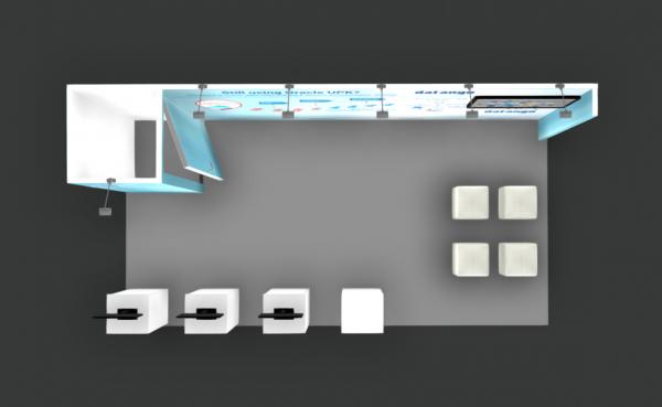 Custom Booth Design 10x20 Collaborate Las Vegas