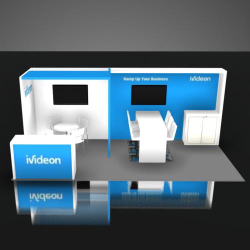 iVideon Booth Rental Las Vegas 10x20 NAB