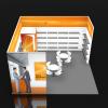 Custom Booth Design 20x20 CES Las Vegas