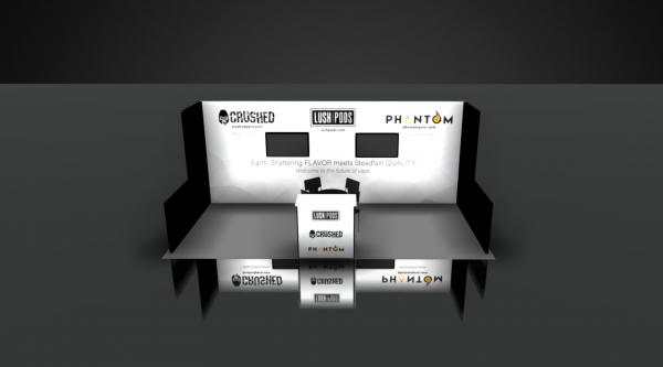 Booth Rental 10 x 20 at ASD West Las Vegas