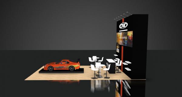 trade show booth designs 20x30 SEMA