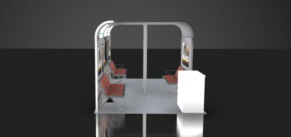 trade show booth design 10x20 CES