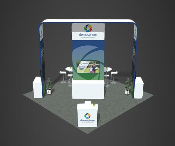 Booth Rental 20x20 Demosphere