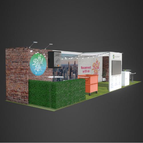 Booth rental in Las Vegas 10x40