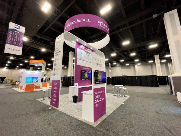Las Vegas custom design booths