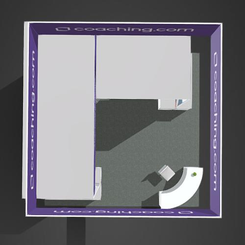 Turnkey booth design