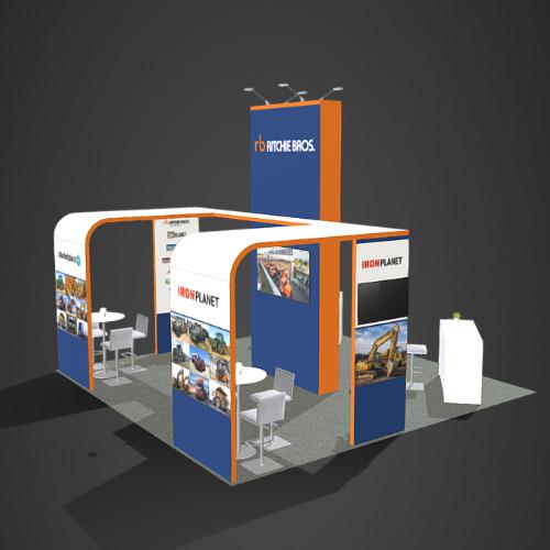 Custom booths