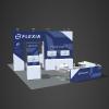 Custom design 20x30 booth rental