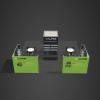Custom design booth rental