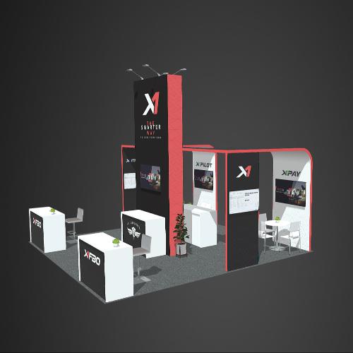 Custom design booths