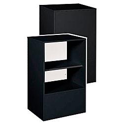 Info  Stand- 38H x 18D x 24W (Black)